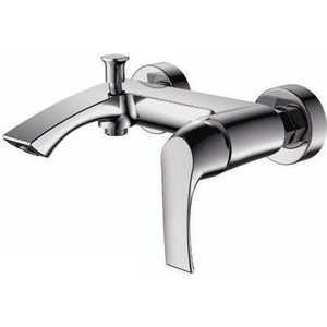 Смеситель для ванны SMARTsant Прайм с аксессуарами (SM113503AA) смеситель для ванны smartsant инлайн излив 350 мм с аксессуарами sm103502aa