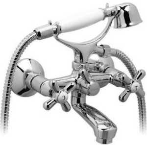 Смеситель для ванны Vidima Ретро телефон (B9711AA/BA125AA) смеситель для ванны vidima ретро короткий круглый излив ba128ls