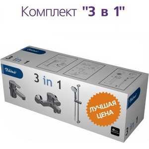 Комплект Vidima Сева фреш из двух смесителей и душевого гарнитура (BA035AA)  душевая кабина vidima ba035aa