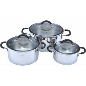 Набор посуды Winner из 6-ти предметов WR-1107 скороварка 6 л winner wr 1805