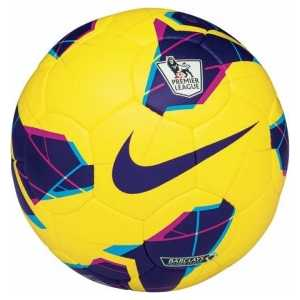 Мяч футбольный Nike Maxim Hi-Vis, арт. SC2162-751, р.5, желто-фиолетово-розовый