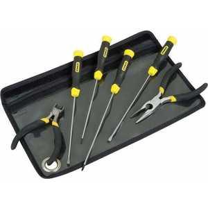 Набор инструмента Stanley CushionGrip для работ с компьютерами (1-65-010) отвертка плоская stanley cushiongrip 3 х 75 мм 0 64 915