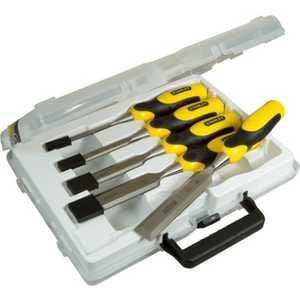 Набор стамесок Stanley 5шт 6-32мм DynaGrip (2-16-885) набор стамесок stanley dynagrip 6 12 18 25 32 мм 5 шт