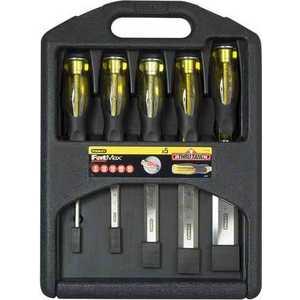 Набор стамесок Stanley 5шт 6-25мм DynaGrip Pro (2-16-271)