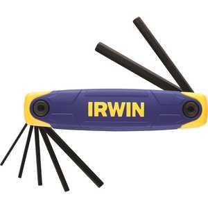 Набор складных шестигранных ключей Irwin 2.0-8.0мм (T10765) набор шестигранных ключей складных в ручке 8 шт stanley triangle 0 95 961