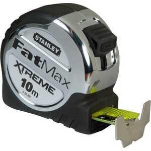 Рулетка Stanley 10м х 32мм FatMax Xtreme (0-33-897) рулетка stanley fatmax xtreme