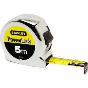 Рулетка Stanley 5м х19мм Micro Powerlock (0-33-552) stanley powerlock 5m 0 33 194 рулетка silver