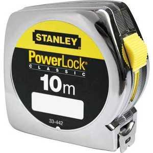 Рулетка Stanley 10м х25мм Powerlock (0-33-442) stanley powerlock 5m 0 33 194 рулетка silver