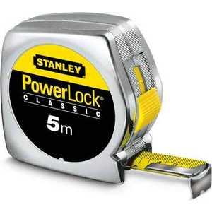 Рулетка Stanley Powerlock 5м (0-33-195) stanley powerlock 5m 0 33 194 рулетка silver