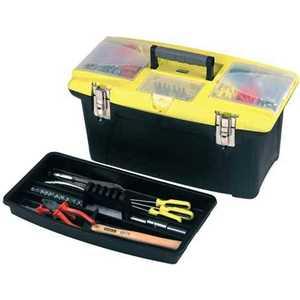 Ящик Stanley для инструмента Jumbo 16TOOLBOX+TRAY (1-92-905) ящик для инструменов stanley серия jumbo 19 с метал замками