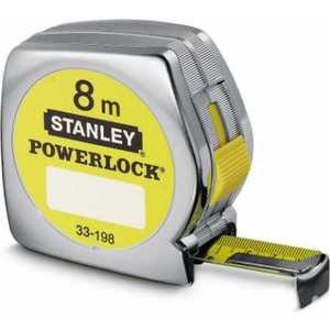 Рулетка Stanley Powerlock 8м (0-33-198) stanley powerlock 5m 0 33 194 рулетка silver