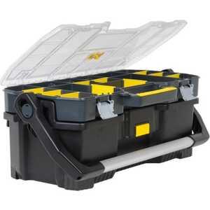 Ящик для инструментов Stanley 24'' 67x32.3x25.1мм со съемным органайзером (1-97-514)