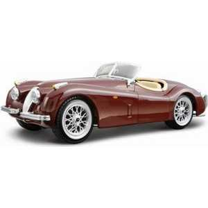 Автомобиль Bburago 1:24 cb kit Jaguar xk 120 roadster 18-25061