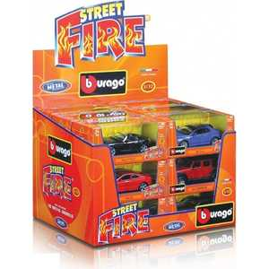 Bburago 1:32 модель автомобиля Street Fire -18-43000 модель автомобиля bburago mercedes amg c coupe dtm масштаб 1 32