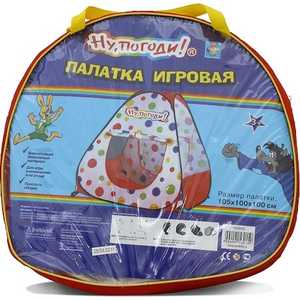 Игровая палатка 1Toy Ну погоди! 104х100х25см в сумке Т53915