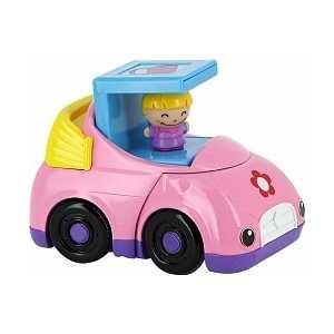 1Toy Машинка для девочек озвученная Kidz Delight Т55442