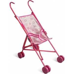 Коляска для кукол 1Toy розовая Т52254