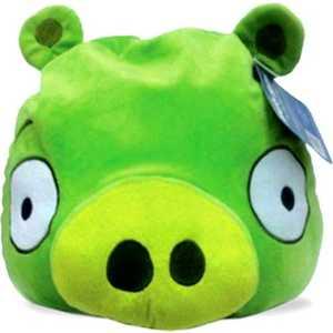 Декоративная подушка Angry Birds Декоративная подушка Green pig 30х25см АВС12 поднос 30х25см сакура j07 ky027g 1034936