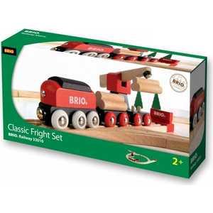 Железная дорога Brio 18 элементов (с краном) 33010