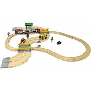 Железная дорога Brio 33 элемента (с переездом) 33209