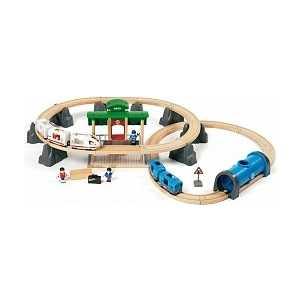 Железная дорога Brio ''Метрополитен'' (свет/звук) 33514