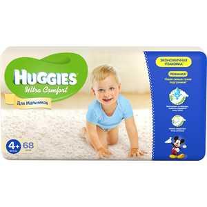 Подгузники Huggies ''Ultra Comfort'' 10-16кг 68шт Giga Pack для мальчиков 5029053543796