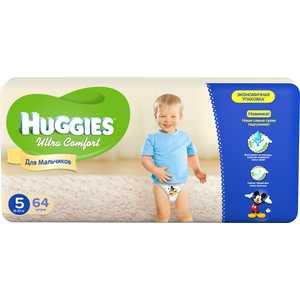 Подгузники Huggies ''Ultra Comfort'' 12-22кг 64шт Giga Pack для мальчиков 5029053543697