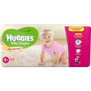 ���������� Huggies ''Ultra Comfort'' 10-16�� 60�� Mega Pack ��� ������� 5029053543758