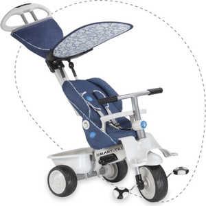 Велосипед Smart Trike 3-х колесный Recliner Stroller (джинсовый) Eva колёса 1912700 велосипед для малыша smart trike 1461800 fresh