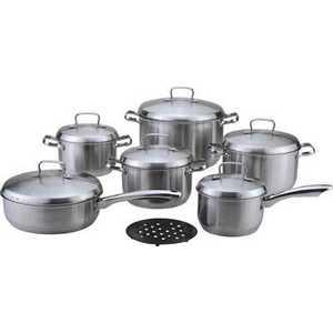 Набор посуды Bekker DeLuxe из 13-ти предметов ВК-2862 набор посуды bekker deluxe из 10 ти предметов вк 2866
