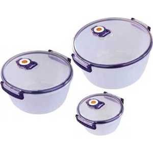 Набор ваккумных контейнеров Bekker ВК-5102 набор посуды bekker deluxe из 13 ти предметов вк 2862