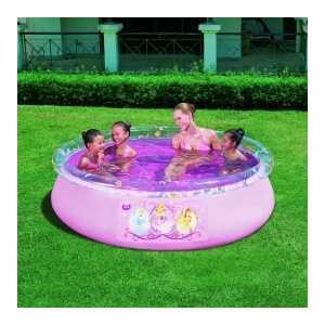 Bestway Надувной бассейн фаст сет Принцессы Диснея (198х51см), 91052