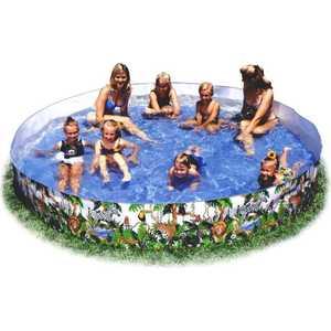 Каркасный бассейн Intex Джунгли 244х46 см от 3лет 58472