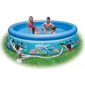 Надувной бассейн Intex Easy Set Риф океана 366х76 см 54906