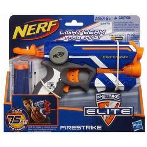 Бластер Hasbro Nerf. Элит Файрстрайк 53378H hasbro hasbro nerf бластер n strike elite rhino fire