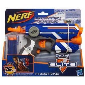 Бластер Hasbro Nerf. Элит Файрстрайк 53378H игрушечное оружие nerf hasbro бластер элит разрушитель