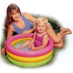 Бассейн Intex надувной Sunset Glow Baby Pool 61х22 см 57402NP