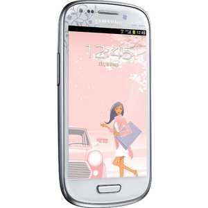 Мобильный телефон Samsung Galaxy S III mini La'Fleur (GT-i8190ZWZ white)