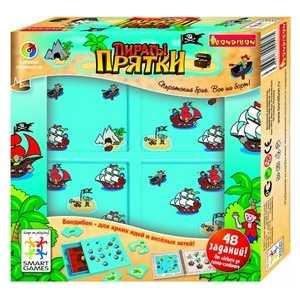 Игра логическая Bondibon Прятки, Пираты 4 уровня сложности/48 заданий (BB0517/SG102RU)