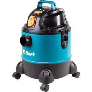 Строительный пылесос Bort BSS-1220-Pro хозяйственный пылесос bort bss 1220 pro