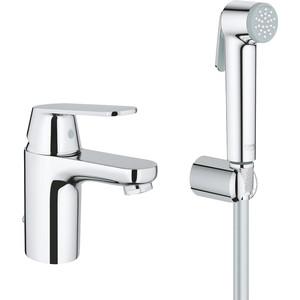 Смеситель для раковины Grohe Eurosmart cosm с гигиеническим душем (23125000) смеситель с душем недорого купить
