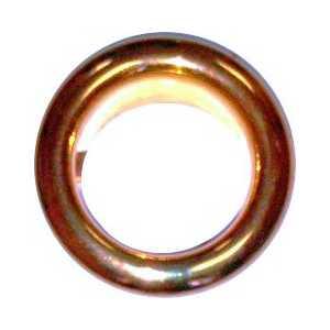 Обрамление перелива Kerasan кольцо для раковины бронза (811113)