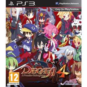 Игра для PS3  Disgaea 4: Promise Unforgotten (PS3, английская версия)