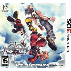 Игра для 3DS  Kingdom Hearts 3D: Dream Drop Distance (3DS, английская версия)