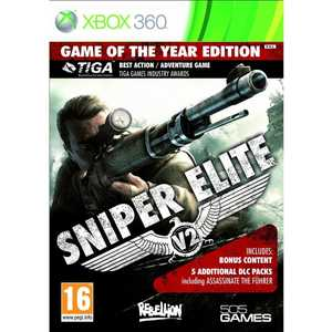 Игра для Xbox 360  Sniper Elite V2 Game of the Year Edition (Xbox 360, английская версия)