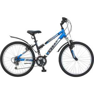 Велосипед Stels Navigator 450 чёрно-синий 14''