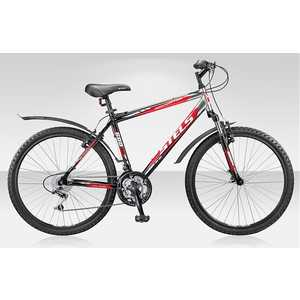 Велосипед Stels Navigator 600 черно-красный 17''