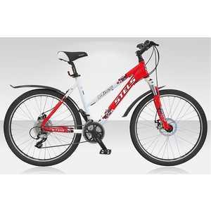 Велосипед Stels Miss 6700 Disc красно-белый 15,5''