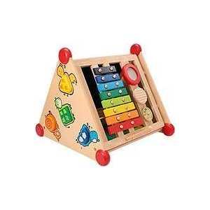 I'm toy Развивающий центр 5 в 1, деревянный 22052