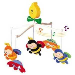 K'S Kids Крутящиеся музыкальные игрушки: Пчелки KA322